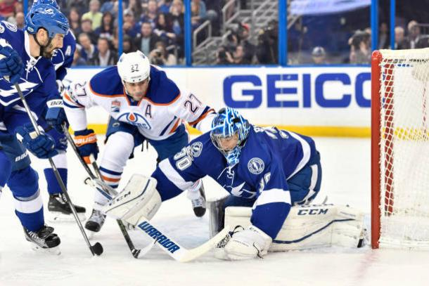 Ben Bishop joins LA Kings in a backup role. | Photo: Roy K. Miller/Icon Sportswire/Getty Images