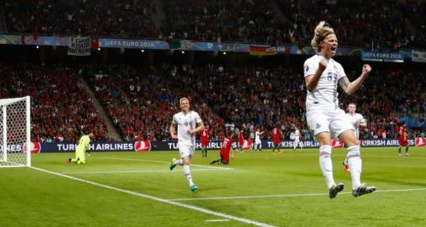 Bjarnason equalised for Iceland, to give the Nordic a precious point / Irish Times