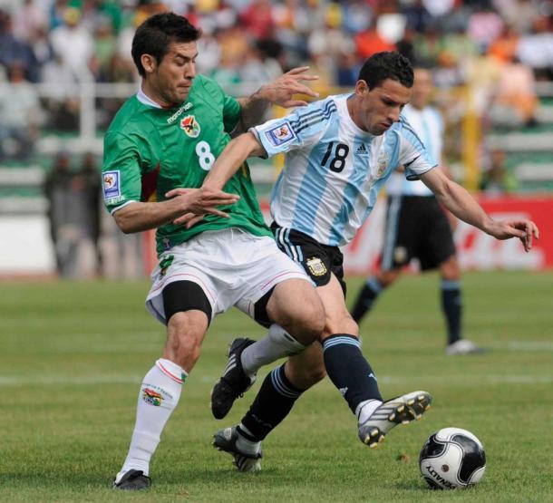 En abril de 2009, Bolivia le propinó una goleada histórica a la Argentina. Foto: Twitter @FIFAcom_es