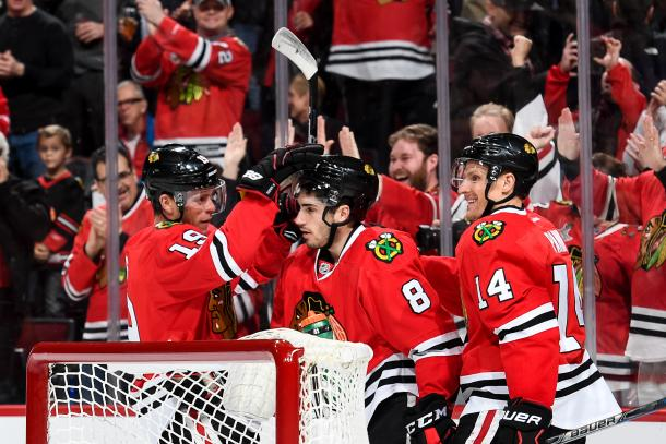 The Chicago Blackhawks have a hill to climb, but will be there in the end. (Photo: Blackhawk Up)