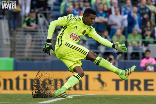 Andre Blake, one of several definite locks for the Union