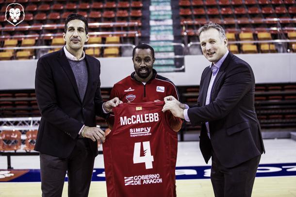 McCalebb llega para marcar la diferencia en Tecnyconta/ Foto: Basket Zaragoza