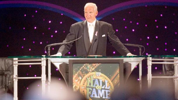 Heenan was inducted into the WWE Hall of Fame in 2004 (image: WWE)