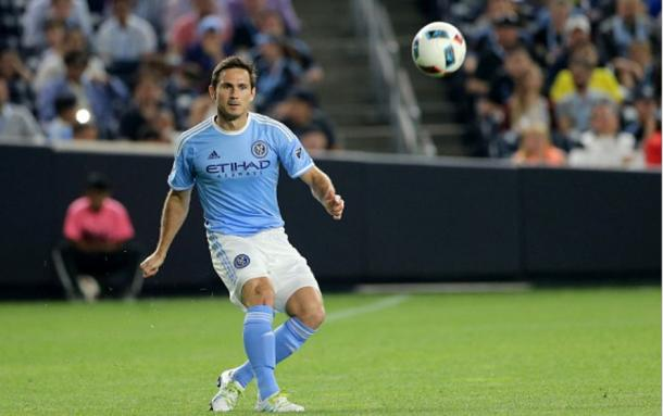 New York City FC midfielder Frank Lampard (above) has been a key contributor for NYCFC over the last four weeks. Photo Credit: Tim Clayton/Corbis