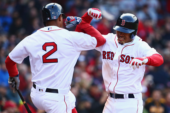 Xander Bogaerts is moving up the ranks in his position. | Photo: Getty Images