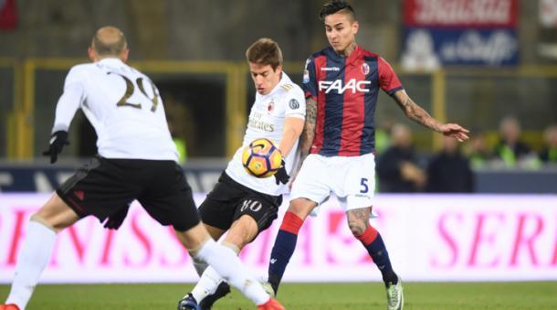 Bologna-Milan 0-1, tuttosport.com