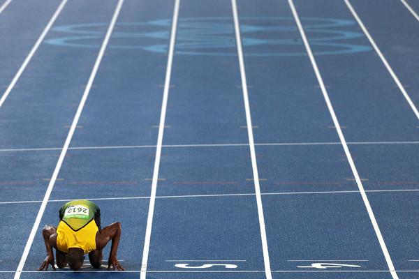 Bolt se despide de Rio / Fuente: Zimbio