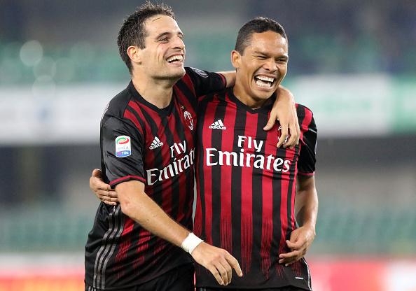 Bonaventura e Bacca não foram convocados para o jogo contra a Roma (Foto: Andrea Spinelli/Corbis via Getty Images)