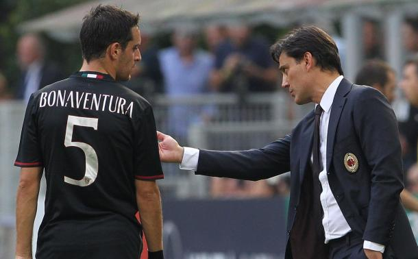 Giacomo Bonaventura e Vincenzo Montella - getty images