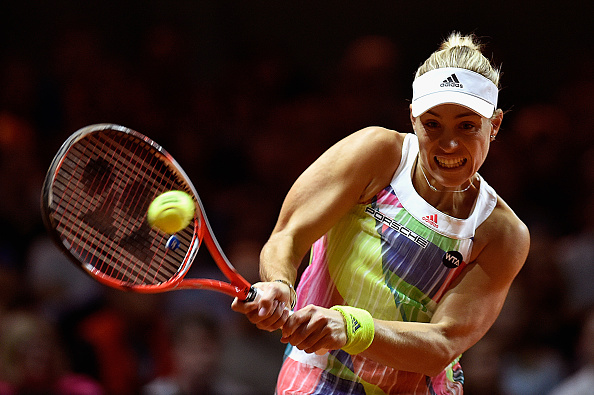 Kerber has been much more aggressive this season (Getty/Bongarts/Dennis Grombkowski)