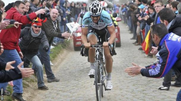 Boonen is aiming for his fifth Roubaix crown. | Photo: BBC