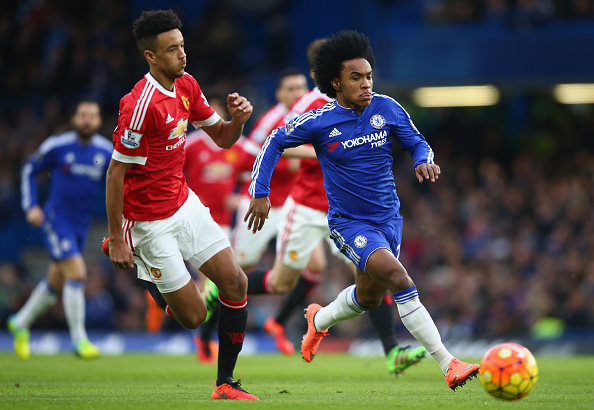 Borthwick Jackson against Willian of Chelsea | Photo: Paul Gilham/Getty Images