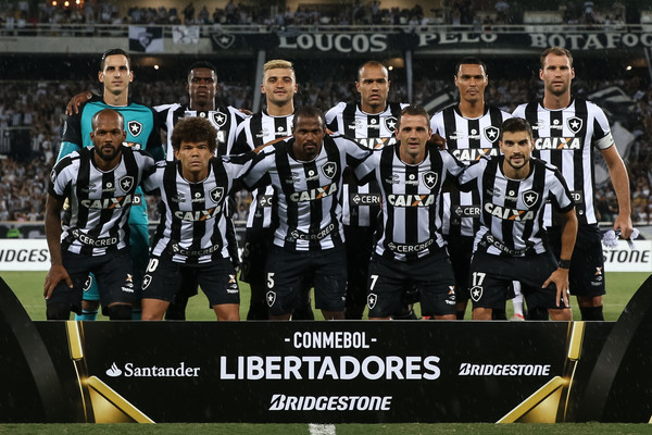 Botafogo enfrentará por primera vez a Nacional en torneos CONMEBOL. | Foto: CONMEBOL