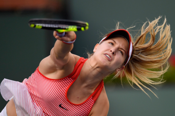 Eugenie Bouchard. Photo: Mark J. Terrill/AP