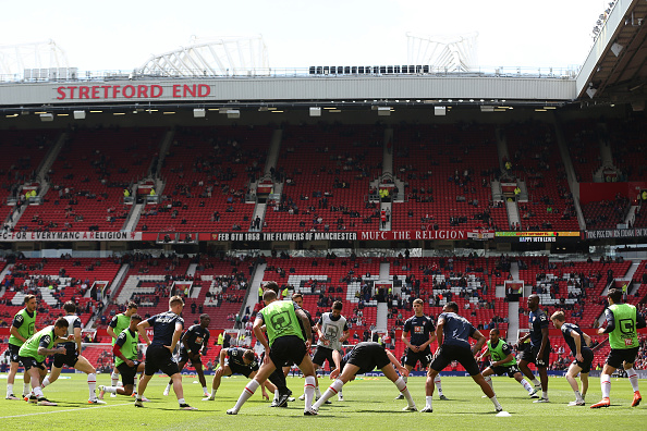 Bournemouth players warm up | Photo: Alex Morton/Getty Images Sport