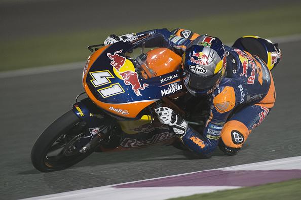 Brad Binder during qualifying | Photo: Mirco Lazzari