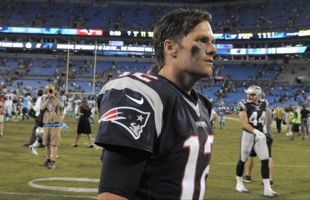 Tom Brady is having an MVP caliber season | Source: Mike McCarn - AP Photo