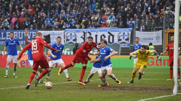 Brandt pokes home the winner away to Darmstadt | Photo: Bundesliga