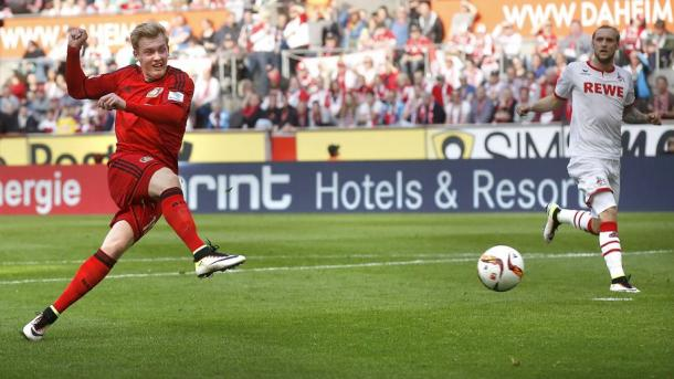 Brandt's form continues, making it four goals in four games. Image credit: Getty
