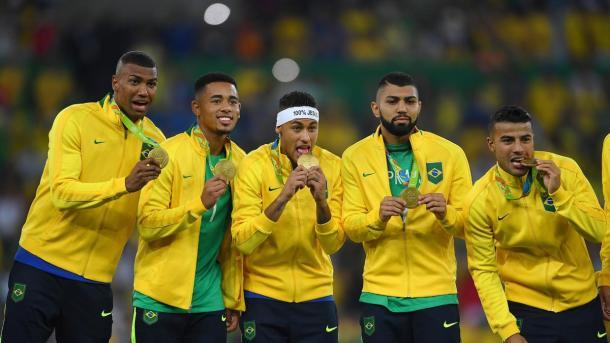 Neymar fue capitán y gran figura de los Juegos Olímpicos.