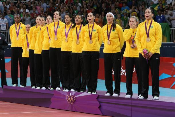Brasil, medalla de oro en los Juegos Olímpicos de Londres 2012.   Foto: Olympics