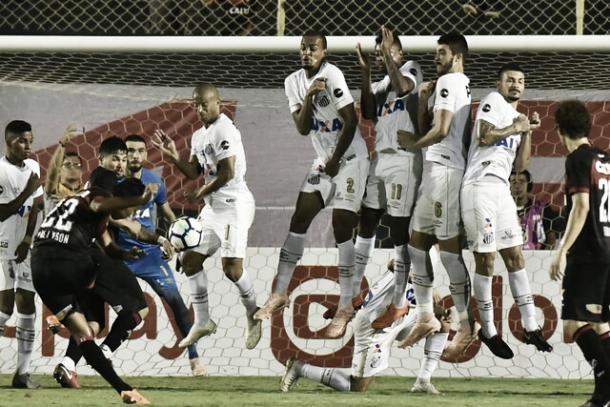 Vitória x Santos pelo Brasileirão 2018 (Foto: Ivan Storti/Santos FC)
