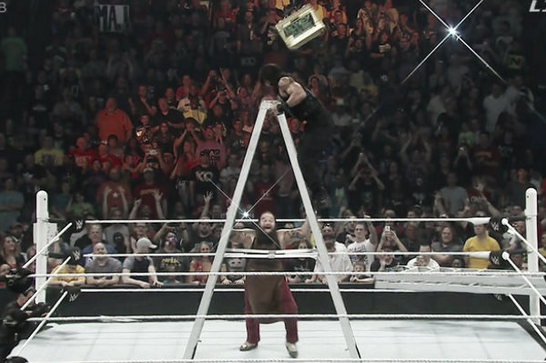 Bray Wyatt cost Roman Reigns at last years Money in the Bank (image: pw-core.com)