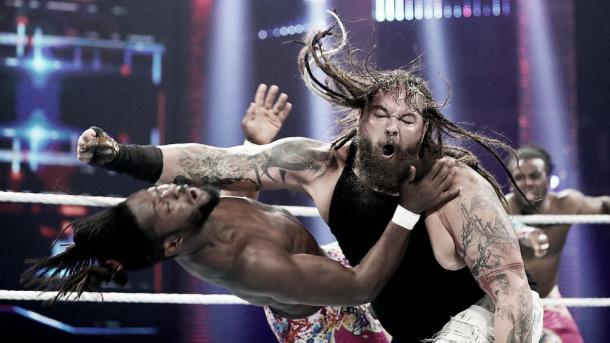 Bray Wyatt y Kofi Foto: www.wwe.com