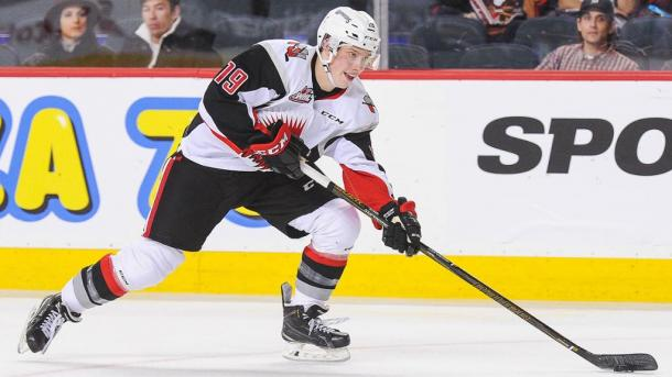 Brayden Burke hopes to show the Arizona Coyotes that he can be their future plans. (Photo: nhl.com)