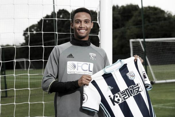 Brendan Galloway could be a key addition to West Brom: Photo: West Bromwich Albion