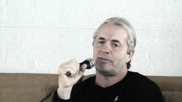 Bret Hart has been very vocal of the WWE in recent months (image:youtube.com)