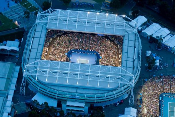 Rod Laver Arena - Fonte: rodlaverarena.com