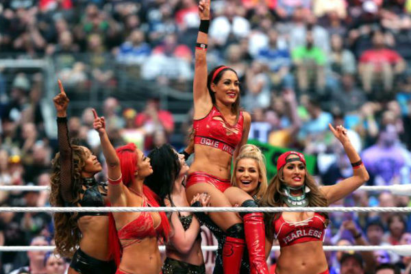 Brie Bella left on a high. Photo- What Culture