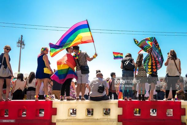 Great scenes at Pride during 2016. Source | Getty Images.