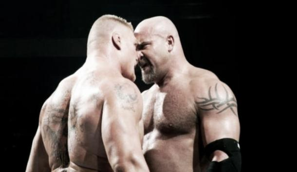Could we see Lesnar - Goldberg part two? Photo-WhatCulture.com