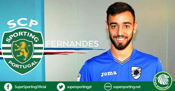 Bruno Fernandes anunciado como jugaor del Sporting CP