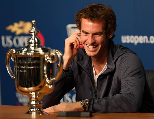Andy Murray won his first Grand Slam title at the US Open five years ago (Getty/Clive Brunskill)