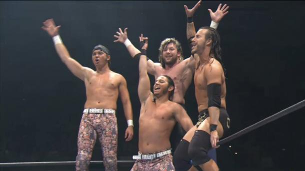 The Bullet Club have an open offer to CM Punk (image: 411mania)