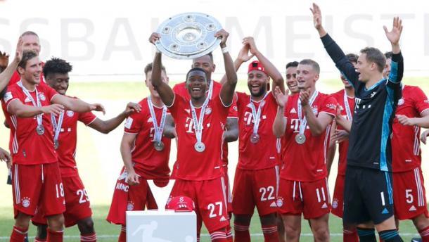 Octava Bundesliga consecutiva del Bayern Múnich / Foto: @FCBayernES