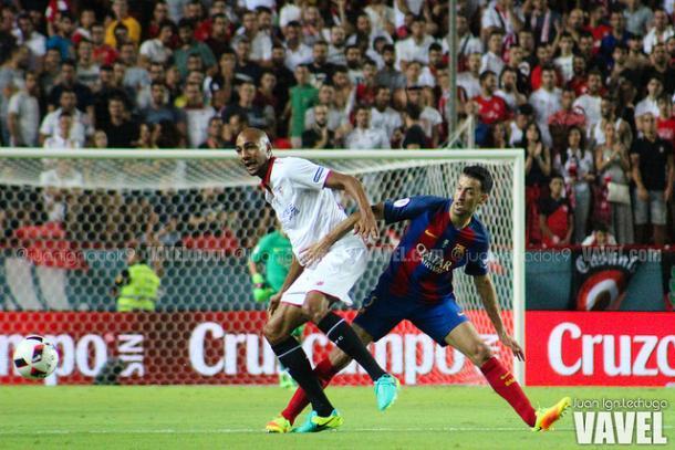 Disputa por el balón, en imagen de archivo   Foto: Juan Ignacio Lechuga - VAVEL