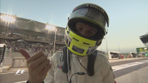Aplaudido por todo o autódromo, Jenson Button encerrou sua carreira (Foto: Divulgação/F1)