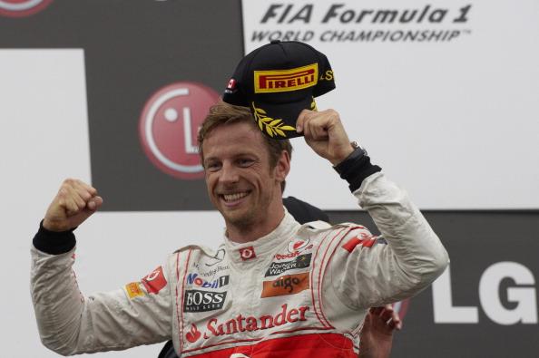 A corrida mais longa da história da F1 foi no Canadá, em 2011, e Jenson Button a venceu de forma épica (Foto: Rainer W. Schlegelmilch/Getty Images)
