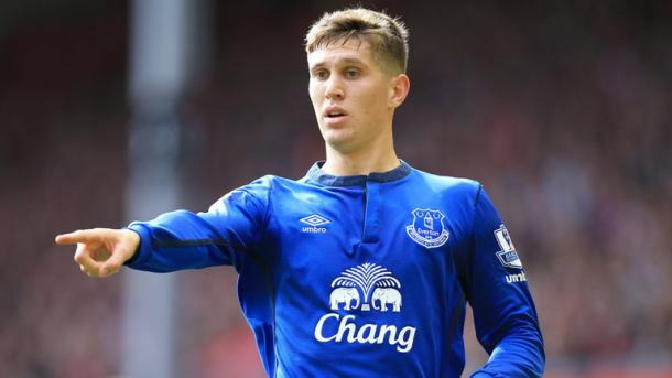 Stones became a key part of Everton's defence | Photo: Getty images