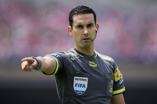Cesar Ramos, arbitro designado para el partido | Foto | UEFA