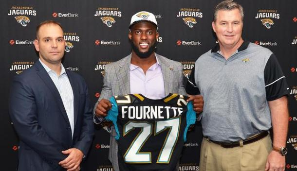 Leonard Fournette was the first running back selected in the draft this year | Source: jaguars.com