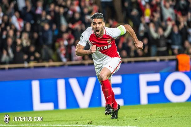 Radamel Falcao in azione. Foto: Twitter