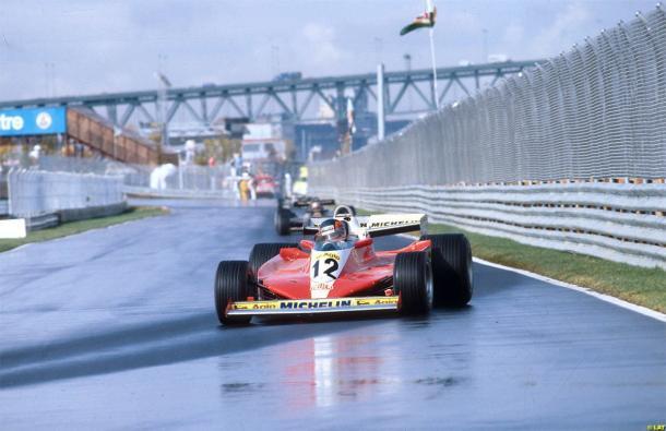 Gilles Villeneuve, durante el Gran Premio de Canadá de 1978 | Fuente: www.taringa.net
