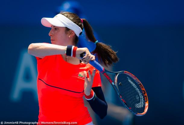 Christina McHale during her match | Photo: Jimmie48 Photography