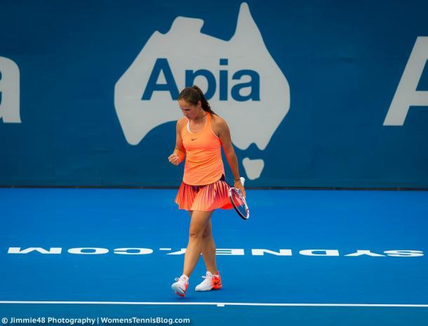 Daria Kasatkina progresses to the second round | Photo: Jimmie48 Tennis Photography