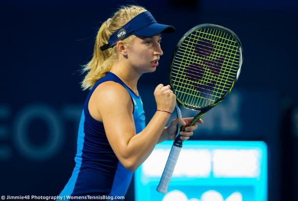 Daria Gavrilova wins her opening match in Sydney | Photo: Jimmie48 Tennis Photography